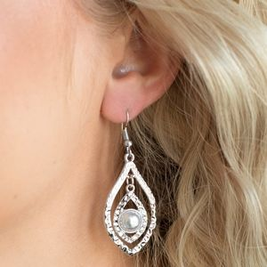 Breaking Glass Ceilings EARRINGS-Silver